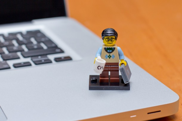 Lego Minifigures Computerprogrammierer