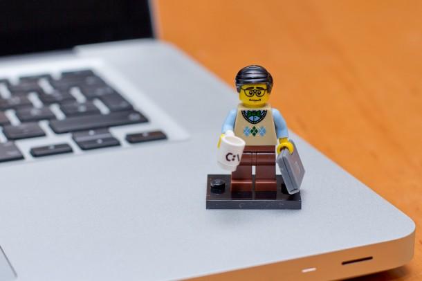 Lego Minifigures Computerprogrammierer